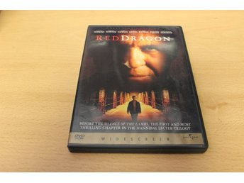 Dvd-film: Red dragon (Anthony Hopkins, Edward Norton)
