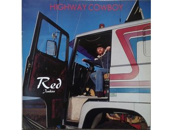 Red Jenkins title* Highway Cowboy* Country, Honky Tonk LP SWE