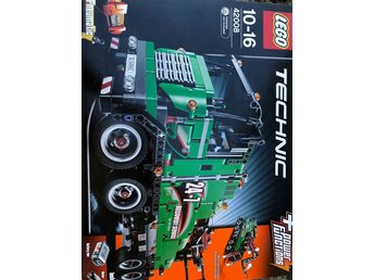 NYLEGO Technic SERVICE TRUCK 42008 2-in-1 Truck with Crane trailer motorized tow