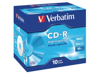 Verbatim CD 800 MB 10 St