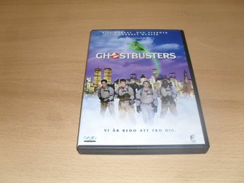 DVD-film: Ghostbusters (Bill Murray, Dan Aykroyd)