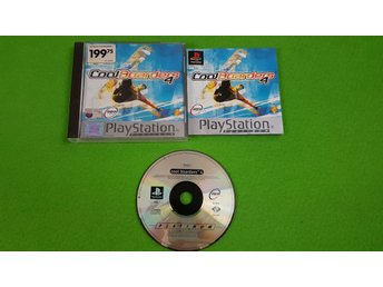 Cool Boarders 4 SVENSK UTGÅVA KOMPLETT Playstation ps1