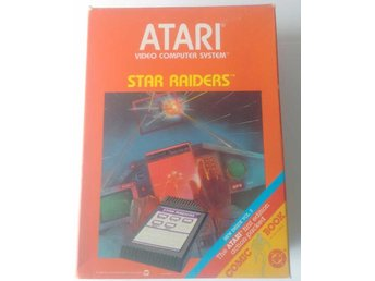Atari 2600 Star Raiders inkl Key Pad