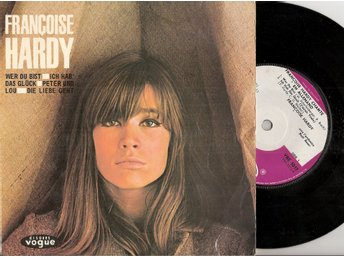Eurovision 1963 Monaco: Francoise Hardy – SUNG IN GERMAN ON RARE EP Vinyl 45