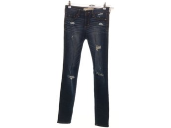 Abercrombie & Fitch, Jeans, Strl: 25/29, Blå