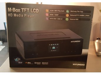 Ny i kartong! M-box TFT LCD HD Media player Hyundai
