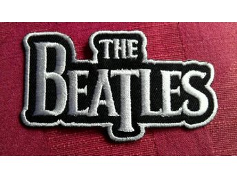 THE BEATLES Patch Tygmärke Liverpool Cavern Club Lennon Ringo