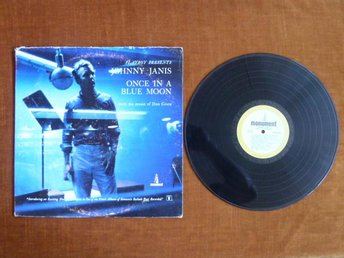 JOHNNY JANIS,  ONCE IN A BLUE MOON,  LP, LP-SKIVA
