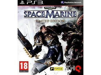 Warhammer 40.000: Space Marine Limited Edition - Till PS3!!!
