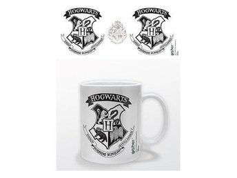 Harry Potter Mugg Hogwarts Crest Black
