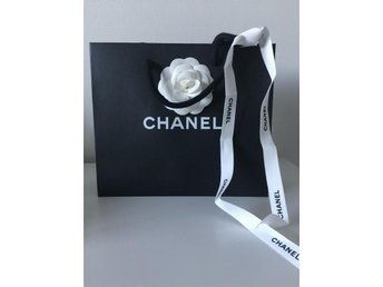 Chanel påse Chanel band camelia blomma