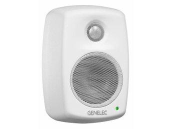 Genelec 4010, vita högtalare med väggfäste - Hägersten - Genelec 4010, vita högtalare med väggfäste - Hägersten
