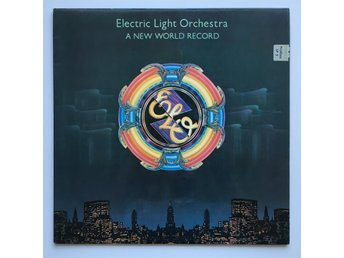 ELECTRIC LIGHT ORCHESTRA A New World Record LP NCB 1976
