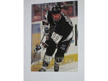 1994-95 Wayne Gretzky #4 Headliner Fleer - Ljungby - 1994-95 Wayne Gretzky #4 Headliner Fleer - Ljungby