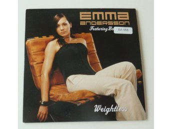 EMMA ANDERSSON FEAT. BOSSON - WEIGHTLESS CD-SINGEL