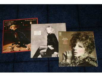 BARBRA STREISAND. 3 LP. WHAT ABOUT TODAY.TILL I LOVED YOU. THE BROADWAY ALBUM.