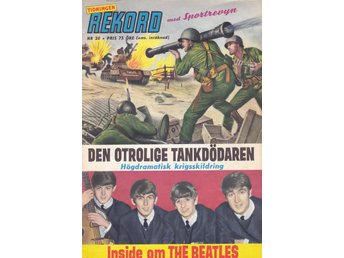 Rekord Magasinet nr 20 1964 med Beatles