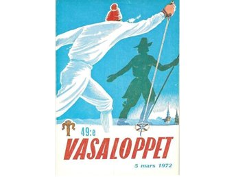 Program 49e VASALOPPET 1972