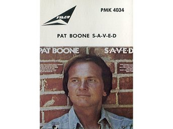 Pat Boone -Saved RARE ORIGINA Swedish casette on Pilot Music