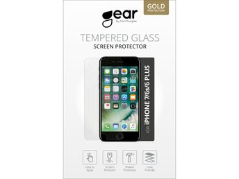 "GEAR Härdat Glas 5.5"" iPhone6 Plus/7 Plus"