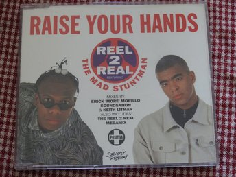 Reel 2 Real Featuring The Mad Stuntman ‎– Raise Your Hands CD Single 1994
