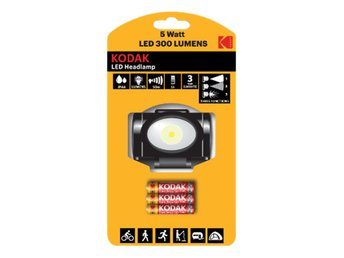 Kodak LED Headlamp, 300lm