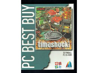 Pc-spel - Big box - Pro Pinball timeshock!
