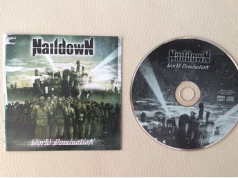 "NAILDOWN "" WORLD DOMINATION"", FINLAND 2005, MELODIC DEATH METAL"