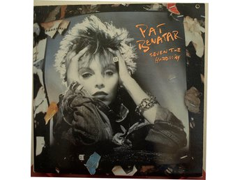 LP. PAT BENATAR - SEVEN THE HARD WAY. KANADA.
