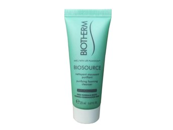biotherm biosource purifying foaming cleanser 20 ml