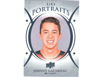 2018-19 Upper Deck UD Portraits P-13 Johnny Gaudreau Calgary Flames