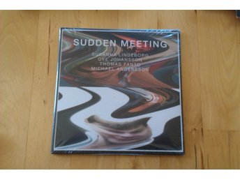 SUDDEN MEETING Ny 2-CD Susanna Lindeborg, Ove Johansson m.fl Jazz Fri Frakt