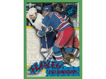 1995-96 Stadium Club Fearless Members Only Parallell #F7 Ulf Samuelsson Rangers