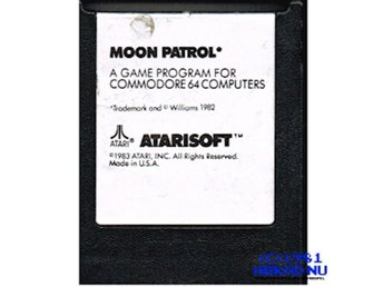 MOON PATROL C64 CARTRIDGE