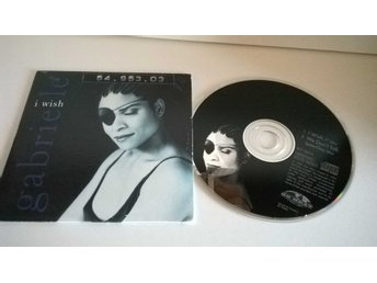 Gabrielle - I wish, single CD