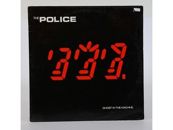 The Police - Ghost in the Machine  LP 1981