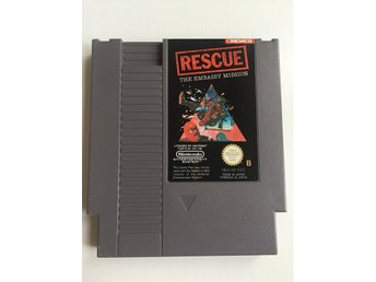 Rescue The Embassy Mission Nintendo NES SCN