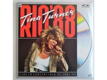 "Laserdisc Tina Turner ""RIO'88"" - Ramlösa - Laserdisc Tina Turner ""RIO'88"" - Ramlösa"