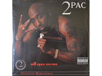2 Pac - All Eyez On Me (Vinyl 4 LP) NY