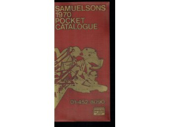 Samuelsons 1970 Pocket Catalogue 01-452-8090