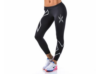 2XU  Compression Tights Silver stl M Dam