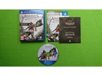 Assassins Creed IV Black Flag PS4 Playstation 4 Playstation4 PS 4 - Västerhaninge - Assassins Creed IV Black Flag PS4 Playstation 4 Playstation4 PS 4 - Västerhaninge