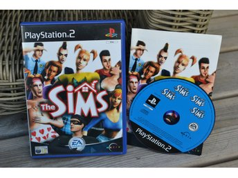 The Sims PS2 Playstation 2 Komplett Fint Skick