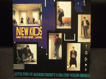 45 - NEW KIDS ON THE BLOCK. Let´s try it again/Didn´t i (Blow your mind). 1990