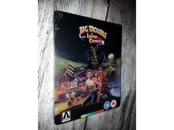 BIG TROUBLE IN LITTLE CHINA (Lmtd STEELBOOK!) Kurt Russell, John Carpenter (OOP)