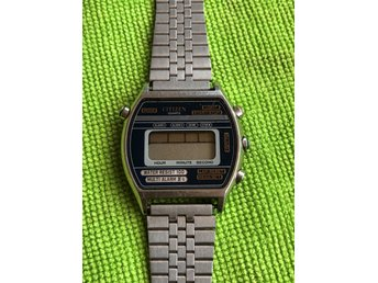 CITIZEN 41-3534 Vintage digital klocka Japan