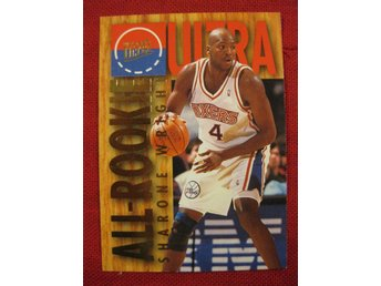 SHARONE WRIGHT - FLEER ULTRA 1994-95 ALL-ROOKIE  - BASKET