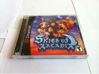 Dreamcast: Skies of Arcadia (OBS NTSC!!)