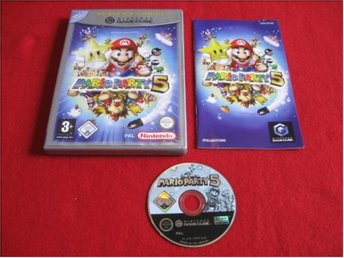 MARIO PARTY 5 till Nintendo Gamecube GC