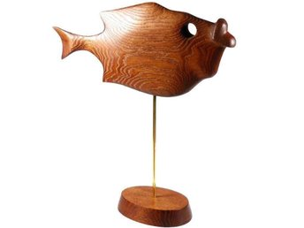 ABSTRAKT djur träskulptur *Fisk*. Skulptur - Kharkiv - ABSTRAKT djur träskulptur *Fisk*. Skulptur - Kharkiv